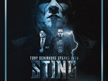 Preview For Tonight AEW Dynamite Featuring Sting's Interview With Tony Schiavone