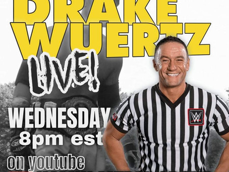 RTW Rewind : Interview With Former NXT Referee Drake Wuertz! Live July 7, 2021