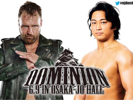 NJPW REVEALS FULL CARD FOR DOMINION