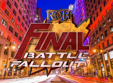 Tickets For Final Battle Fallout On Sale Tomorrow