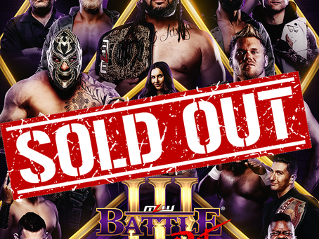 MLW Battle Riot III Sells Out