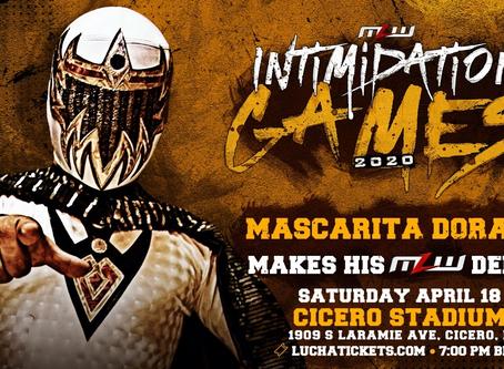 Mini Luchador Mascarita Dorada Debuts In MLW On April 18 In Chicago