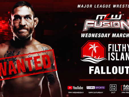 Filthy Island Fallout: Tom Lawlor Makes Statement On Wednesday's MLW FUSION