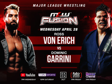Ross Von Erich vs. Dominic Garrini Signed For MLW FUSION