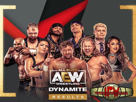 AEW Dynamite Results (04/07/2021)