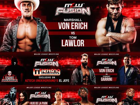 MLW FUSION Preview: Lawlor vs. Von Erich