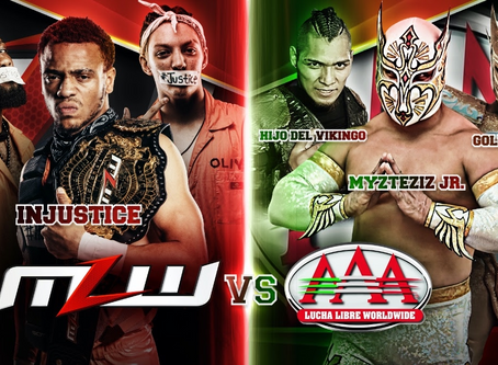 AAA World Trios Championship To Be Defended In Mexico Against MLW's Injustice Stable On March 13