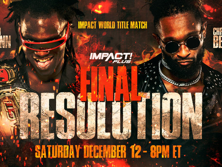 """Rich Swann To Defend World Championship At Impact's """"Final Resolution"""" Event Against Chris Bey"""