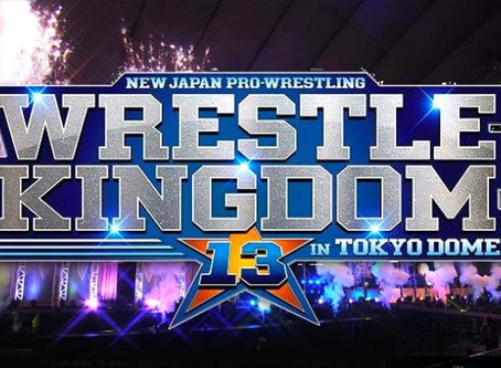 NJPW's Wrestle Kingdom 13 Official Match Line Up