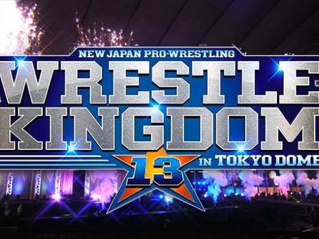 NJPW's Wrestle Kingdom 13 Official Match Line Up