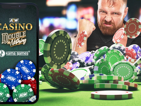 """""""AEW Casino: Double Or Nothing"""" Game Launches For Free On Mobile App Stores"""