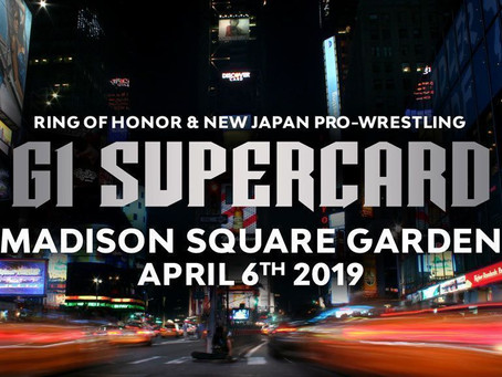 ROH & NJPW To Host A Show At Madison Square Garden