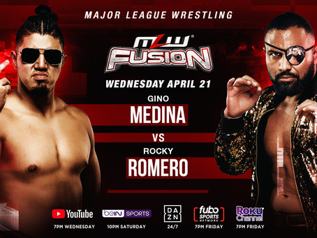 Rocky Romero vs. Gino Signed For MLW FUSION