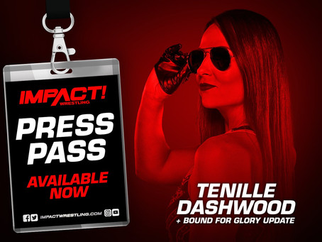 IMPACT Wrestling Press Pass Podcast Featuring Tenille Dashwood (Audio)