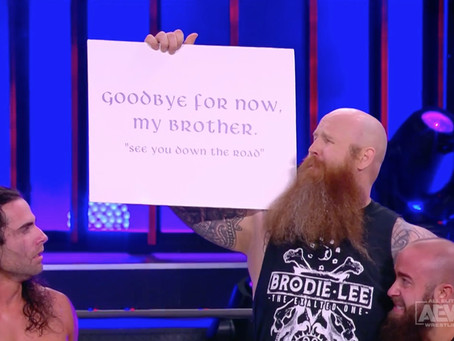 Erick Rowan Appears On AEW Dynamite Pays Tribute To Brodie Lee
