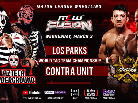 World Tag Team Title Bout Added To MLW FUSION