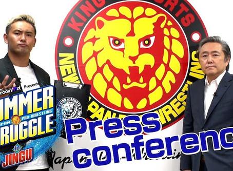NJPW Summer Shakeup Press Conference