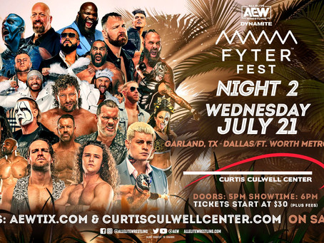 AEW Dynamite: Fyter Fest Night Two Results (07/21/21)