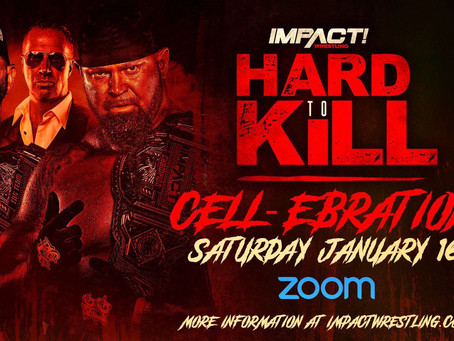 IMPACT Wrestling Announces Co-Hosts For Its Virtual Fanfest, The 2-Hour Hard To Kill CELL-ebration