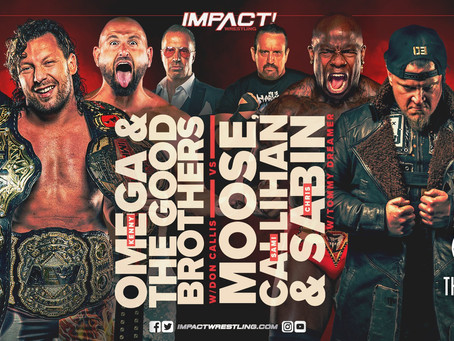 Current Lineup For IMPACT Wrestling Next Week: Kenny Omega Set To Wrestle