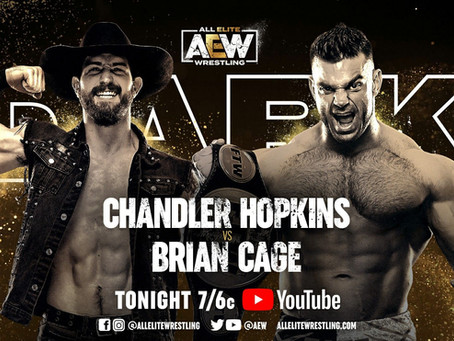 Brian Cage vs Chandler Hopkins Headline AEW Dark, Complete Match Line-Up