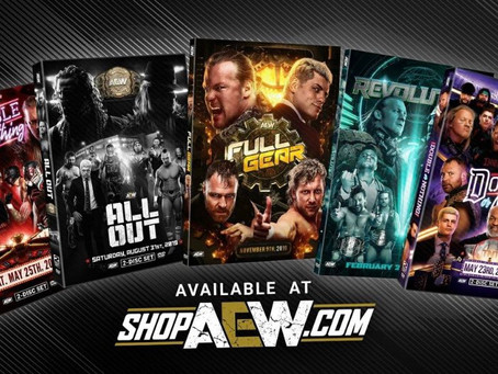 AEW Releases Pay-Per-Views On DVD For The First Time Ever