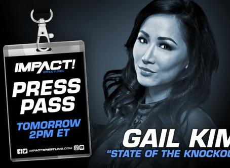 IMPACT Wrestling Press Pass Podcast Featuring Gail Kim (Audio)