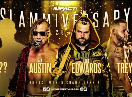 Slammiversary Main Event Changed As Mystery Opponent Added To IMPACT World Championship Match