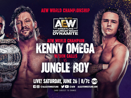 AEW Dynamite Preview: Kenny Omega Defends Against Jungle Boy