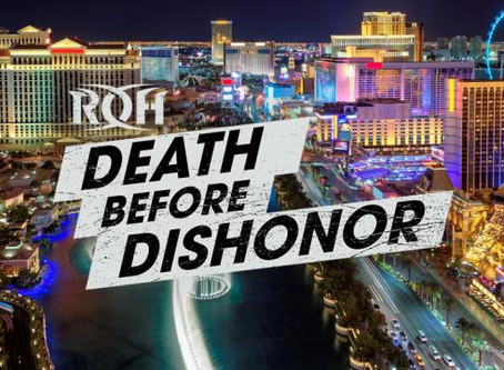 ROH Releases A Video Highlight Of The 8 Best Death Before Dishonor Moments