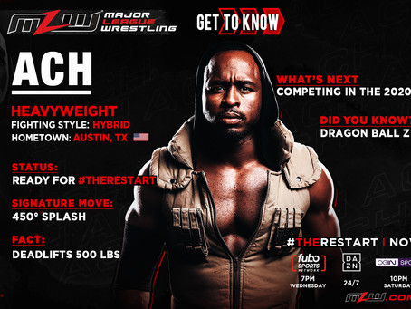 ACH Returns To MLW For The Restart
