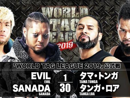 The WORLD TAG LEAGUE 2019 Hits The Aichi Prefectural Gymnasium In Nagoya On November 24 At 5:00PM