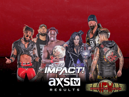 IMPACT On AXS Tv Live Results (03/23/2021)