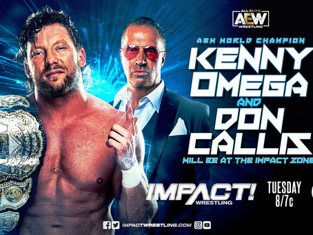 "Kenny Omega To Appear On The ""Hard To Kill"" Go-Home Episode Of IMPACT Wrestling"