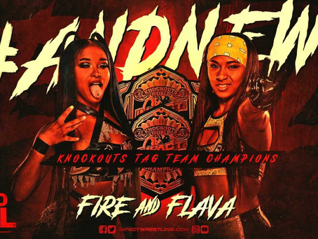Kiera Hogan & Tasha Steelz Crowned New IMPACT Wrestling Knockouts Tag Team Champions At Hard To Kill