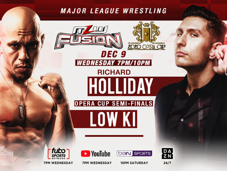 Low Ki vs Richard Holliday Opera Cup Semi-Finals On Wednesday