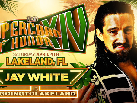 Jay White Booked For ROH Supercard Of Honor