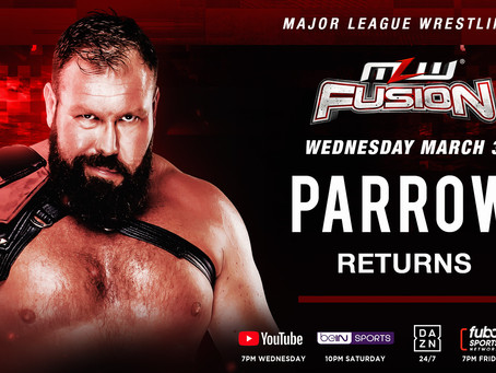 Parrow Returns To MLW Tomorrow Night On FUSION