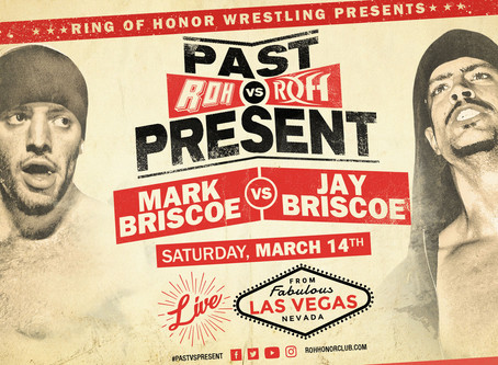 Mark Briscoe vs Jay Briscoe Will Headline ROH Past vs Present