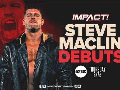 Steve Maclin Set To Debut On This Week's IMPACT