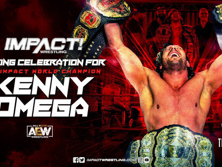 Kenny Omega Will Hold An in-Ring Celebration This Thursday On IMPACT