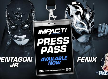 IMPACT Wrestling Press Pass Podcast Featuring Pentagon Jr & Fenix (Audio)