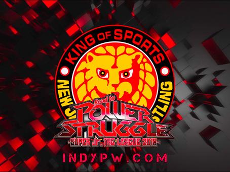 NJPW Power Struggle Results