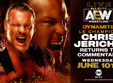 Chris Jericho To Do AEW Commentary On Next Week's Dynamite