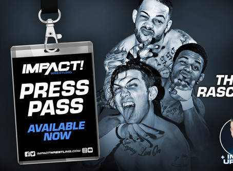 IMPACT Wrestling Press Pass Podcast Featuring The Rascalz (Audio)