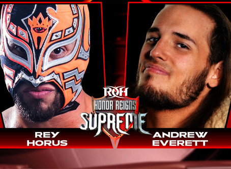 Rey Horus & Andrew Everett Square Off In Concord