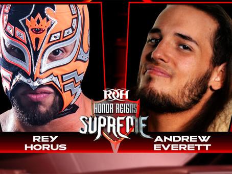 Rey Horus & Andrew Everett Square Off In Concord