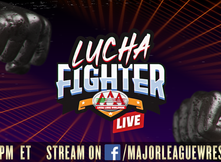 MLW To Stream AAA Lucha Fighter On Facebook This Saturday