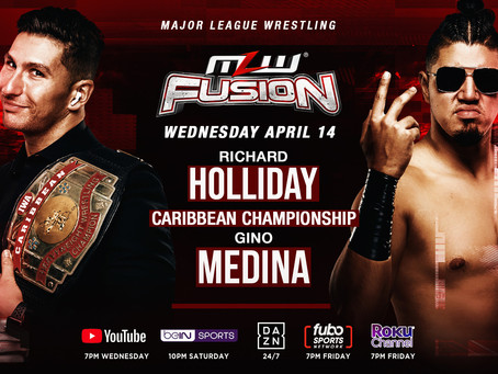 Holliday vs. Gino For The Caribbean Title Added To MLW FUSION