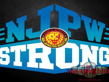 Update On NJPW Strong (09/13/2020)